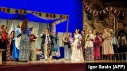 """Опера Руджеро Леонкавалло""""Паяцы"""" в Ашхабаде, 19 ноября, 2019"""