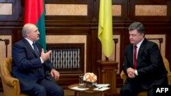 Lukashenka dhe Poroshenko