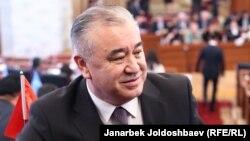 There's been bad blood between Omurbek Tekebaev (above) and his former political ally, Kyrgyz President Almazbek Atambaev, for months now.