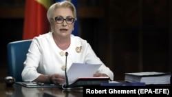 Viorica Dancilă spune că guvernul Orban pornește cu stângul
