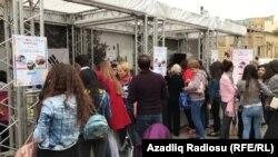 Bakı. İçəri Şəhər. Dünya Turizm günü. 27 sentyabr 2017-ci il