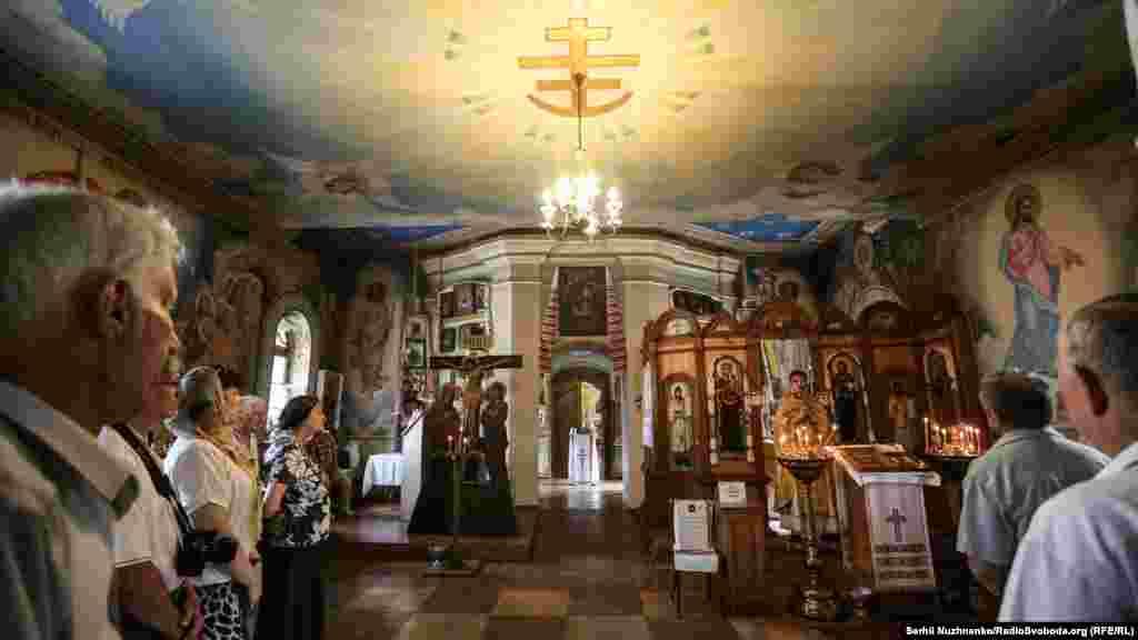 Поминальна літургія у Свято-Покровській Подільській церкві