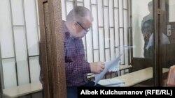 Өмүрбек Текебаев сот залында. 05.09.2017