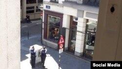 Брюссель полицияси шубҳали шахсни қуршовга олган, 2016 йил 20 июли.