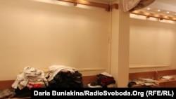 Голі стіни внаслідок того, що частину колекції забрала родина Китових