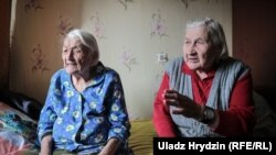 Yazheniyu još uvijek redovno posjećuje sestra Branislava (desno)