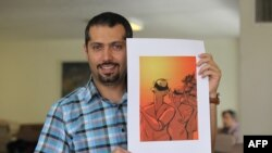 Iranian cartoonist Hadi Heidari