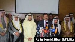 اتحاد مجلس العشائر العربية في مؤتمره الصحفي في اربيل، 28 شباط 2015