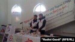 Дар ҳошияи муаррифии ташхисгони нави СПИД дар Кӯлоб