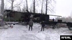Пожар в Томске, архивное фото