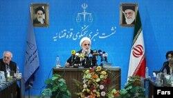 نشست خبری غلامحسین محسنی اژهای، رئیس قوه قضائیه