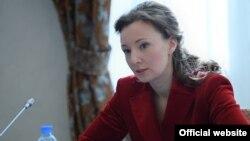 Уполномоченная при президента России по правам ребенка Анна Кузнецова