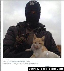 """Российские военные в Сирии – фото из социальной сети """"ВКонтакте"""""""