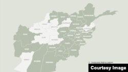 نقشه عمومی افغانستان