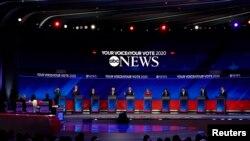 نامزدان حزب دموکرات برای انتخابات سال ۲۰۲۰ میلادی امریکا