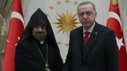 Թուրքիայի նախագահը և ԱԳ նախարարը ընդունել են Պոլսո Հայոց պատրիարքին
