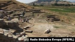 Античкиот локалитет Стибера кај Прилеп.