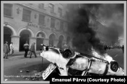 București, 13 iunie 1990 (foto: Emanuel Pârvu)