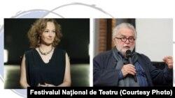 Marina Constantinescu îl are ca interlocutor pe teatrologul George Banu