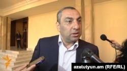 Самвел Алексанян отвечает на вопросы журналистов, Ереван, 17 марта 2016 г.