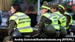 Військові Нацгвардії під час патрулювання центру міста у дні проведення «Євробачення», архівне фото