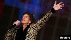Лідер Rolling Stones Мік Джаггер