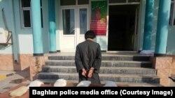آرشیف، دستگیری یک قاچاقبر مواد مخدر در ولایت بغلان. عکس جنبه ئزئینی دارد.