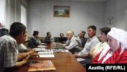 Башкортстан татар иҗтимагый үзәгенең идарә утырышы