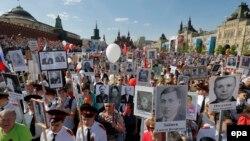 Երկրորդ համաշխարհային պատերազմում տարած հաղթանակին նվիրված շքերթ Մոսկվայում, արխիվ