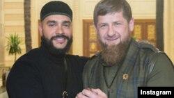 Тимати и Рамзан Кадыров. Источник: инстаграм Кадырова