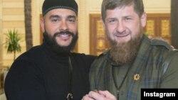 Рамзан Кадыров и Тимати, архивное фото