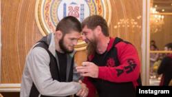 Рамзан Кадыров и Хабиб Нурмагомедов