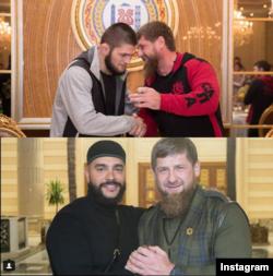 Рамзан Кадыров, Хабиб Нурмагомедов и Тимати, источник: инстаграм Кадырова