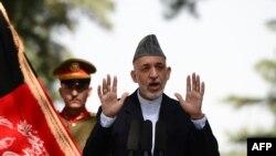 Presidenti i Afganistanit, Hamid Karzai.