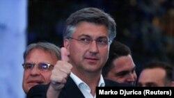 Lider HDZ-a i dosadašnji hrvatski premijer Andrej Plenković