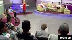 Скрин одной из телепередач телеканала ANS
