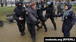 Задержания людей в Минске, 25 марта 2017 год