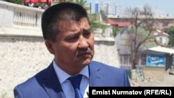 Ош шаар башчысы Айтмамат Кадырбаев.