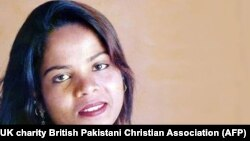 Asia Bibi was on death row for eight years after being convicted of blasphemy. (file photo)