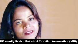A photo of Asia Bibi released in November 2018