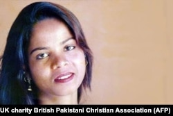 Asia Bibi (file photo)