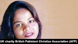 FILE: Asia Bibi was on death row for eight years after being convicted of blasphemy.