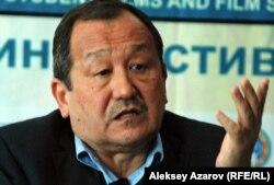 Генеральный директор кинофестиваля режиссер Сергей Азимов. Алматы, 23 октября 2012 года.