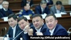 Депутаты фракции «Республика - Ата Журт.