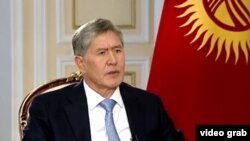 "Kyrgyz President Almazbek Atambaev that although Kyrgyzstan, ""unlike Ukraine, does not have many choices, we will choose the path that is good for us."""