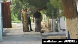 Полицейская проверка, Туркменистан (архивное фото).
