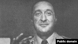 سرهنگ نعمتالله نصیری، فرمانده گاردشاهنشاهی و یکی از بازیگران کلیدی وقایع روزهای ۲۴ و ۲۵ مرداد