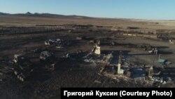 Есть поселки, которые сгорели полностью