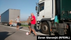 Zabava kamiondžija, granični prelaz Batrovci, 23. septembar 2015.