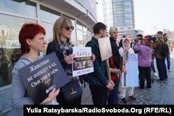 Участь у мітингу взяли представники зоозахисних організацій та волонтери, що опікуються тваринами